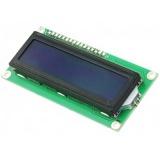 Pantalla LCD 16x2 Azul 1602 16x02 HD44780