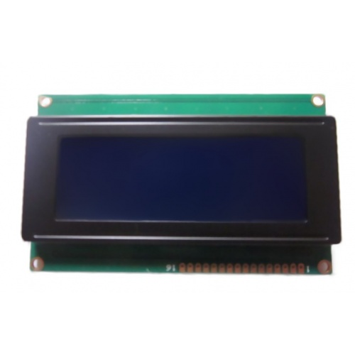 Pantalla LCD 20x4 azul  2004 20x04 HD44780