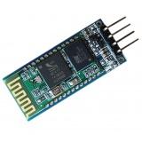 Módulo inalámbrico Bluetooth HC-06 con base de conexión