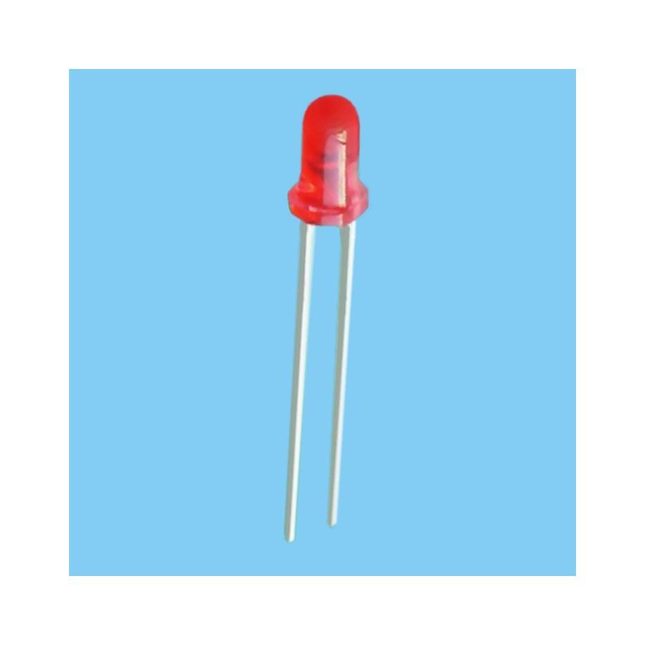Diodo Led 3mm Rojo