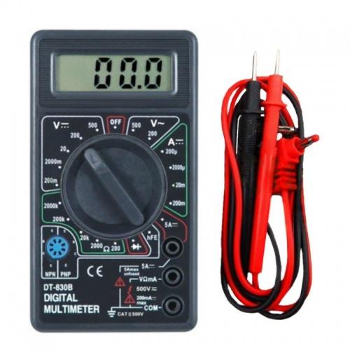 Polimetro Multimetro Tester Voltimetro Amperimetro Digital DT830B