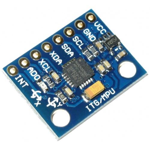 GY-521 6DOF MPU-6050 Módulo Sensor de 3 ejes acelerómetro y giróscopo