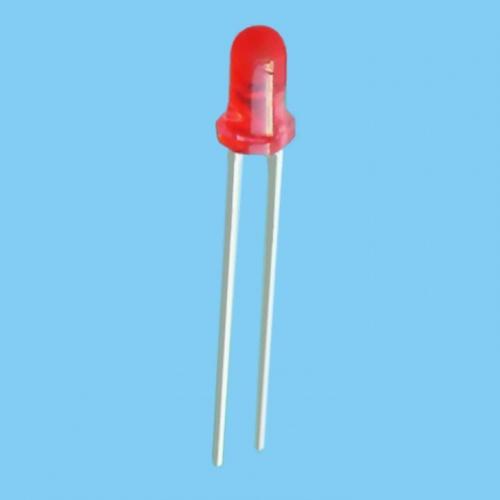 20x Diodo Led 3mm - Rojo