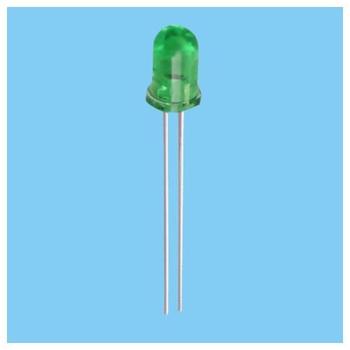 20x Diodo Led 3mm - Verde
