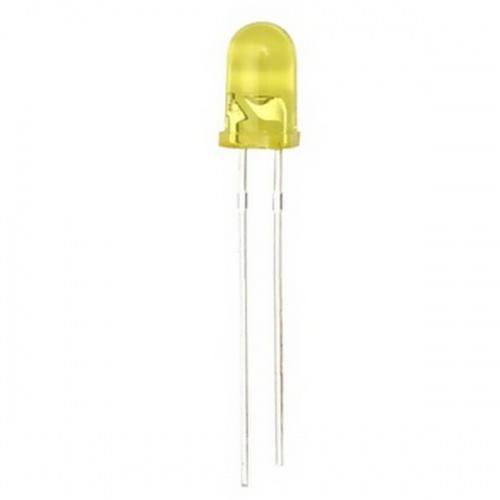 20x Diodo Led 5mm - Amarillo