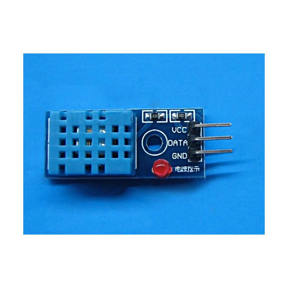 Sensor DHT11 con base de conexión