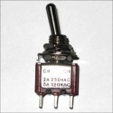 Interruptor 250V 2A Mini toggle switch On-On