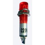 Piloto indicador Rojo 220V