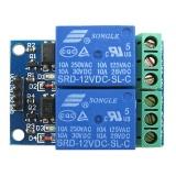 Módulo de 2 canales de Relés de 5V con optoacoplador