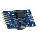 Reloj tiempo real de precisión RTC DS3231 con memoria 24C32 y batería CR2032