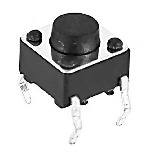 Pulsador mini Switch Push Button 6x6x5 4 pines