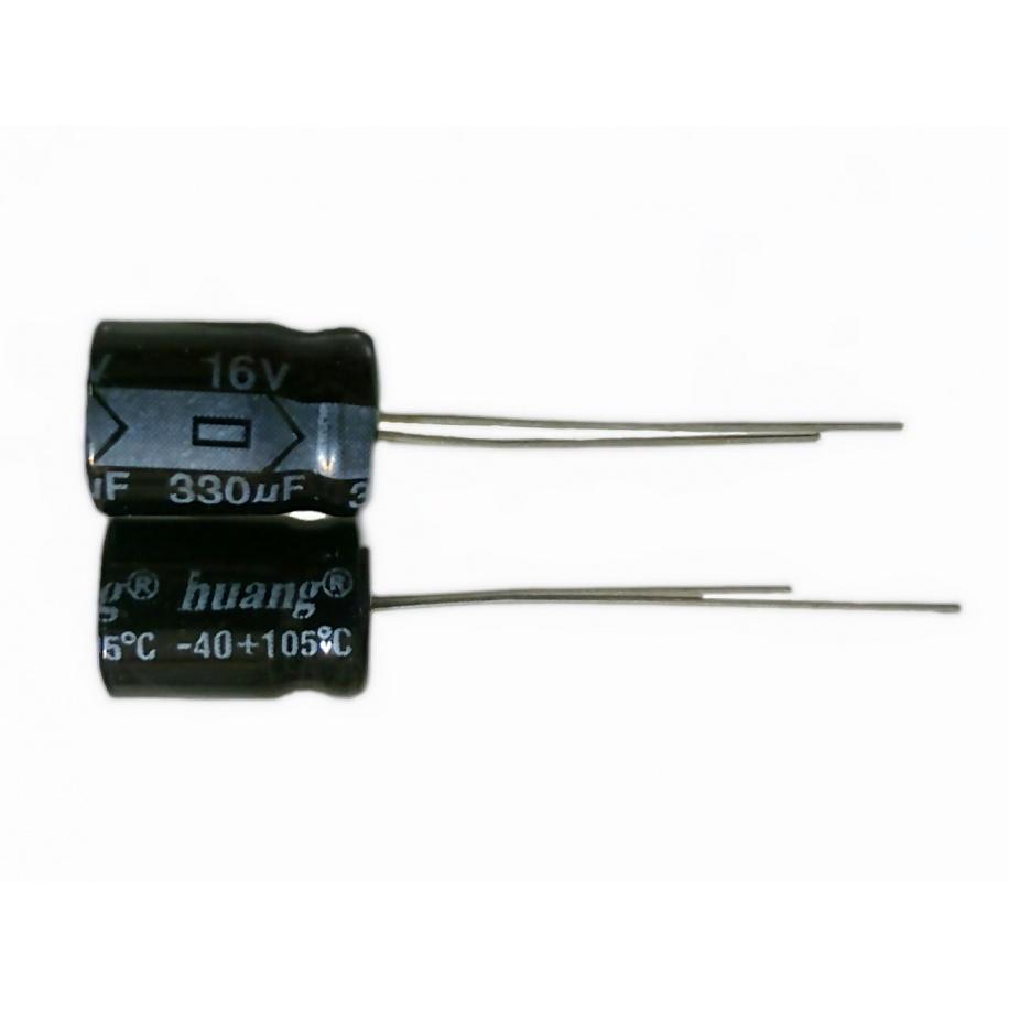 Condensador 330uF 16V