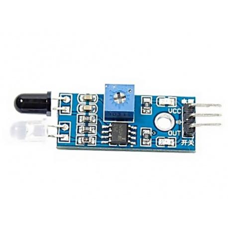 Sensor detector de obstáculos por infrarrojos IR