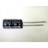 Condensador electrolítico 2200uF 16V 105º