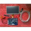 Pantalla LCD 1024x600 con entradas HDMI, DVI, VGA y CVBS (Vídeo compuesto) con panel táctil
