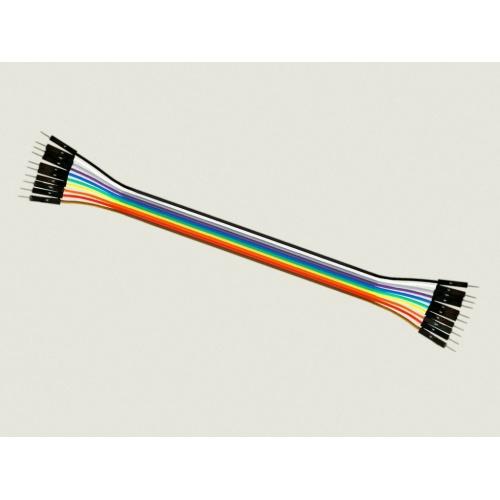 Cable Macho Macho 10 x 1 pin 20cm Male - Male Jumper Cables for Arduino