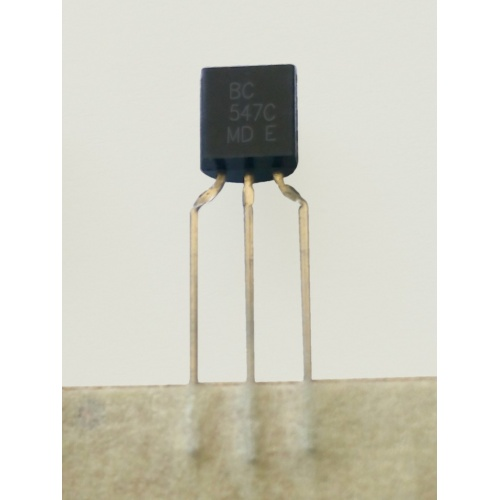 10x Transistor bipolar NPN BC547C + 10x Transistor bipolar PNP BC557C