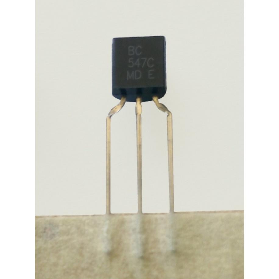 Transistor bipolar NPN BC547C