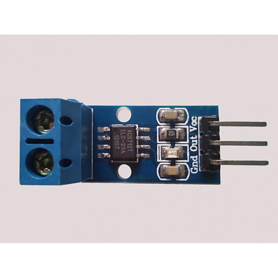 Sensor de corriente 20A ACS712