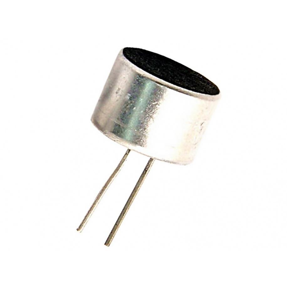 3x Micrófono electret Ø9,7x6,9mm