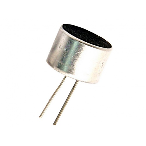 Micrófono electret Ø9,7x6,9mm