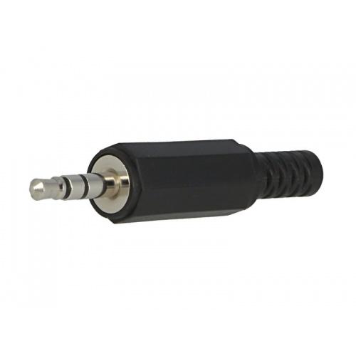 3x Conector estéreo macho audio. Jack 3.5mm