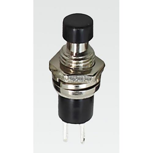 Pulsador 250V 0.5A Botón Negro