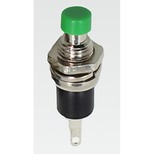 Pulsador 250V 0.5A Botón Verde