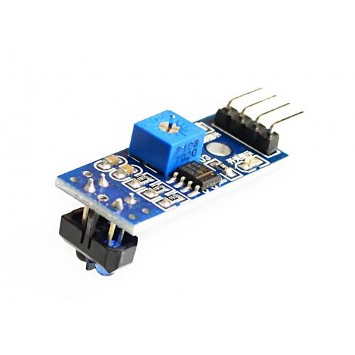 Sensor infrarrojo reflectivo TCRT5000