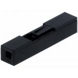 Carcasa conector Dupont 1 pin, Paso 2.54