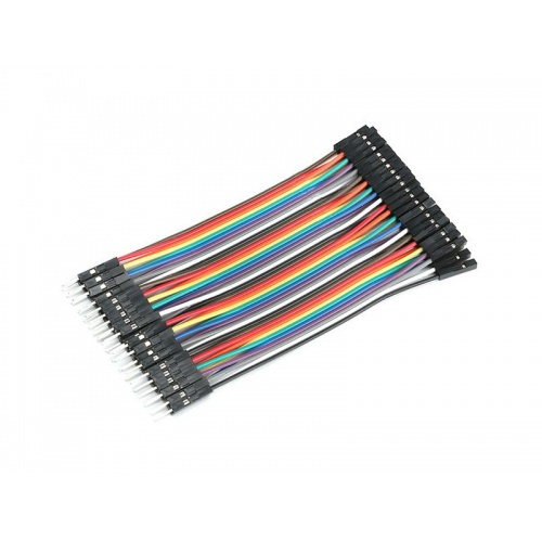 Cable macho hembra 40 hilos 10 centimetros