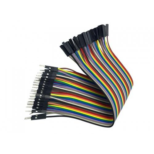 Cable macho hembra 40 hilos 30 centimetros