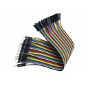 Cable Hembra Macho 40 x 1 pin 30cm Female - Male Jumper Cables Arduino