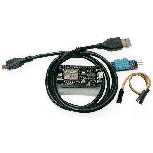 Kit IOT Básico Humedad y Temperatura (ESP8266+DHT11)